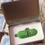 Boite et clé USB Loupé le loup